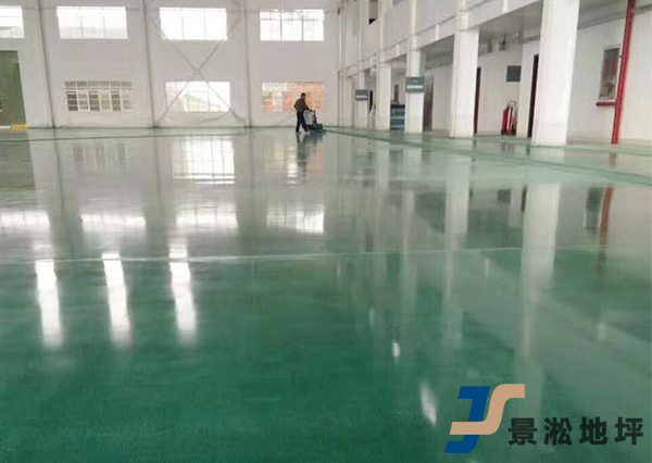 工厂染色固化剂地坪施工