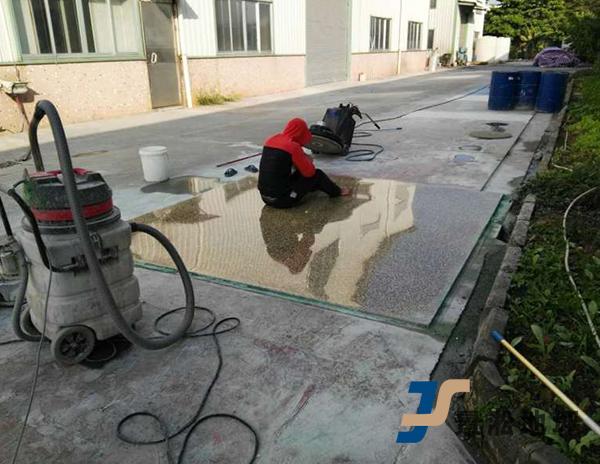 水泥基磨石地坪
