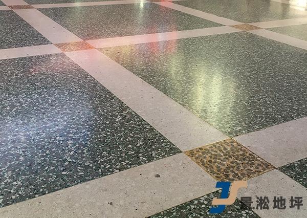 商场水泥基磨石地坪