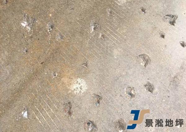 水泥地面坑洞修补